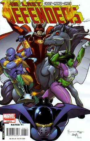 Last Defenders #6 (2008) Marvel comic book
